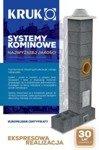 System kominowy KRUK UNIVERSAL 13M - z wentylacją - trójnik 90°