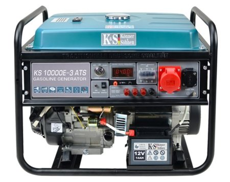 Agregat prądotwórczy KONNER & SOHNEN KS 10000E-3 ATS + Olej + Darmowa DOSTAWA