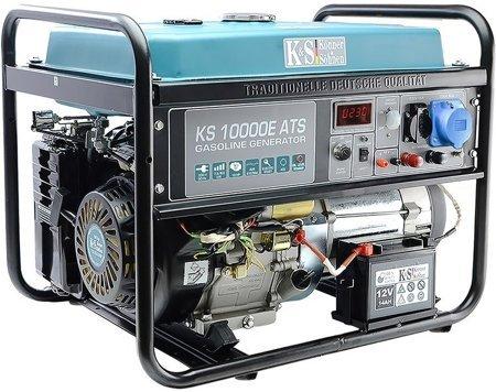 Agregat prądotwórczy KONNER & SOHNEN KS 10000E ATS + Olej + Darmowa DOSTAWA
