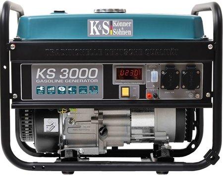 Agregat prądotwórczy KONNER & SOHNEN KS 3000 + Olej + Zestaw Transportowy